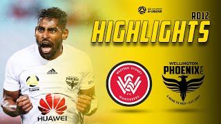 Full Time Highlights | Western Sydney Wanderers Vs Wellington Phoenix