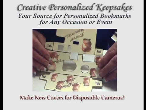 How to Make a Custom Disposable Wedding Camera Covers