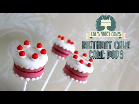 Birthday cake pops: How to make birthday cake cake pops