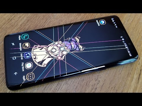 How To Hide Navigation Bar On Samsung Galaxy S9 / S9 Plus - Fliptroniks.com