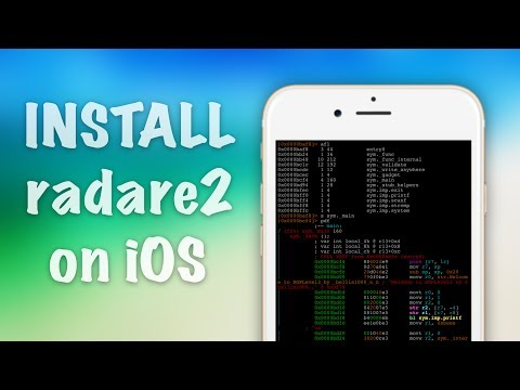 iOS 10 - How to Install Radare2 Disassembler/Debugger (for iOS Reverse Engineering)
