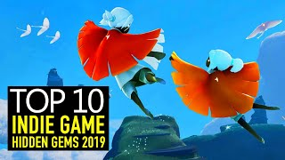 Top 10 BEST Indie Game HIDDEN GEMS of 2019 You May Have Missed