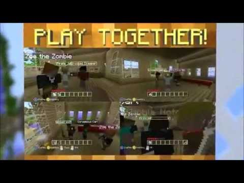 Minecraft xbox 360 edition official trailer (with tf2 scout sounds and minecraft sounds)