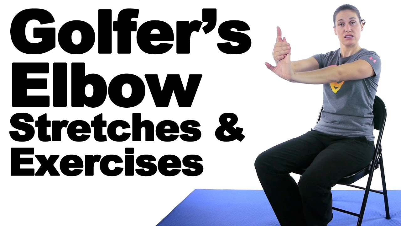 Golfer's Elbow Stretches & Exercises - Ask Doctor Jo