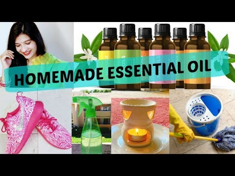 DIY's, Tips & Tricks using essential oils   How to make essential oil at home in Hindi   AVNI