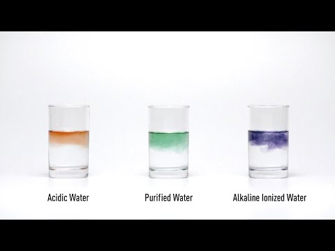 Alkaline Ionized Water Practical Test -pH