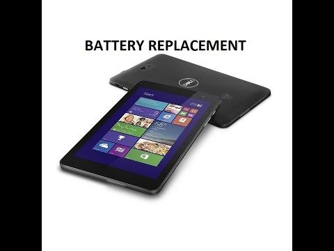 Dell Venue 8 Pro battery replace(5830)
