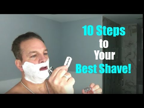 How To Get Your Best Shave!