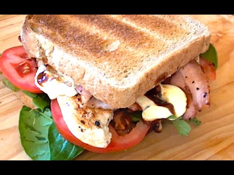 HOW TO MAKE THE BEST DANG CHICKEN BACON SANDWICH - Greg's Kitchen