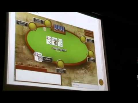Will Ma MIT Lecture: How to Win at Texas Hold'em Poker, Lecture 7, Part 2 of 2