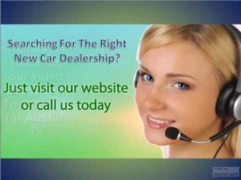 Looking for Toyota New and Used Cars in Austin Texas