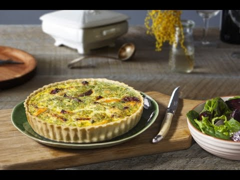 Jus Create - Smoked Trout and Beetroot Quiche - Pastry Recipes from Jus-Rol™