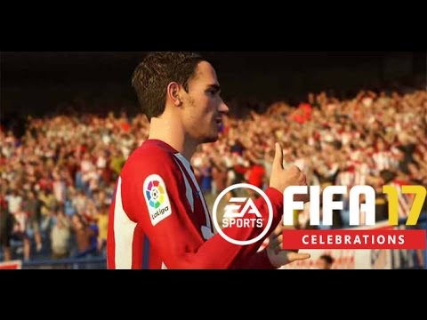 FIFA 17 Celebrations - How to Perform them?