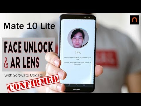 Face Unlock and AR Lens Feature Coming To Huawei Mate 10 Lite   Nova 2i   Confirmed!