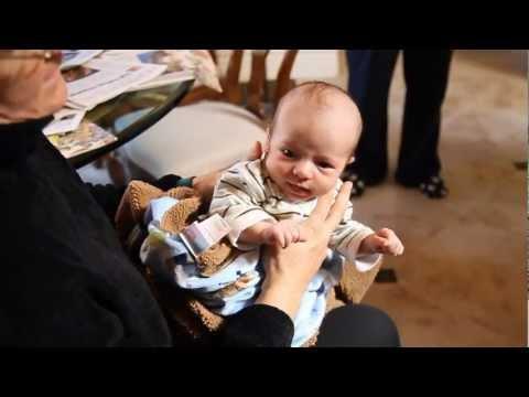 Grandma Pat's Infant Burping Technique