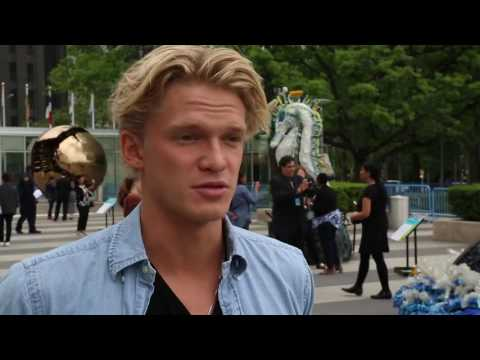 watch Seeing the pollution made me want to help, says Cody Simpson