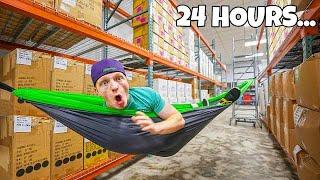 24 HOUR OVERNIGHT WAREHOUSE CHALLENGE!