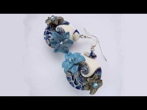 Funny video. How to make beautiful handmade jewelry.
