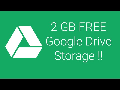How To Get Free 2GB Google Drive Storage For Lifetime