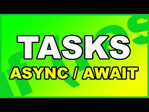 C# Tasks Async Await
