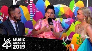Rosalía explica 'A Palé' | Red Carpet LOS40 Music Awards 2019