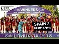 WU17 final highlights: Germany v Spain