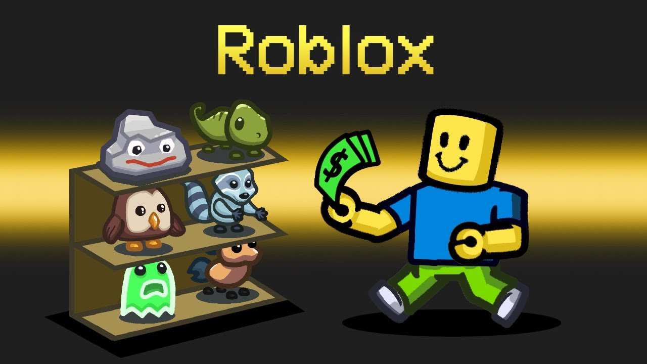 ROBLOX *PETS* Mod in Among Us