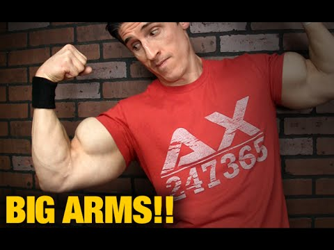 Massive Arm Workout (INCLUDES FINISHER!)