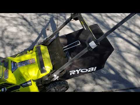 Real World Usage Review Ryobi RY40180 40V Electric Lawn Mower