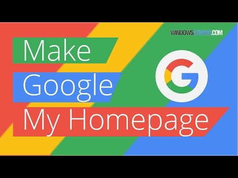 How To Make Google Your Homepage On Chrome/Firefox/Edge