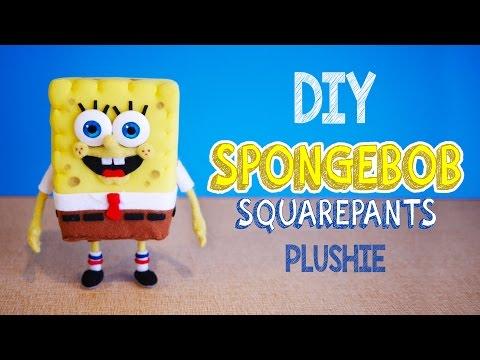 How to make SpongeBob Squarepants Plushie! DIY