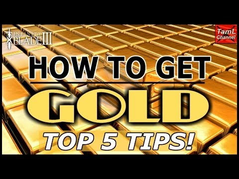 Infinity Blade 3: HOW TO GET GOLD - TOP 5 TIPS!