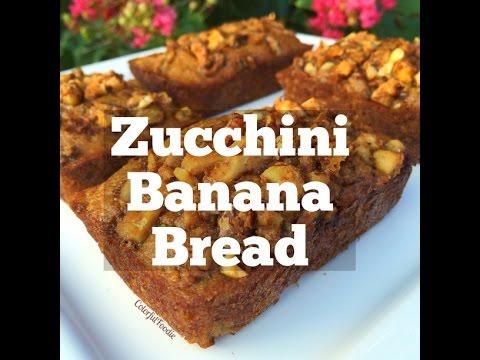 How to make Zucchini Banana Bread