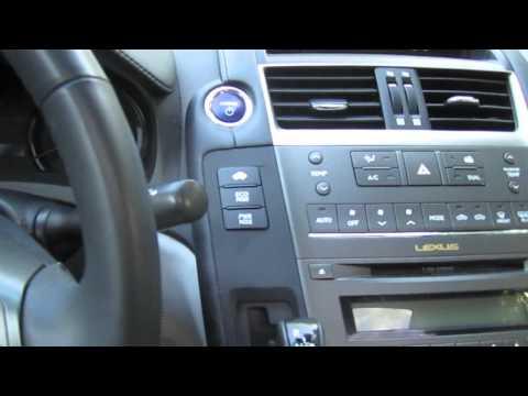 2010 Lexus HS 250h car overview