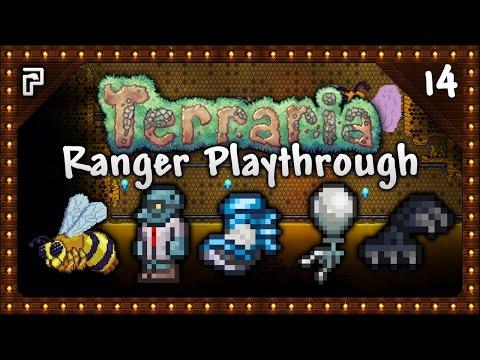 🌳 Terraria 1.3.4 Let's Play | Ranger Playthrough | Horseshoe Balloon! Frostspark Boots [Episode 14]