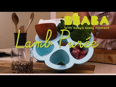 Beaba Babycook Recipe - Lamb Puree - Direct2Mum
