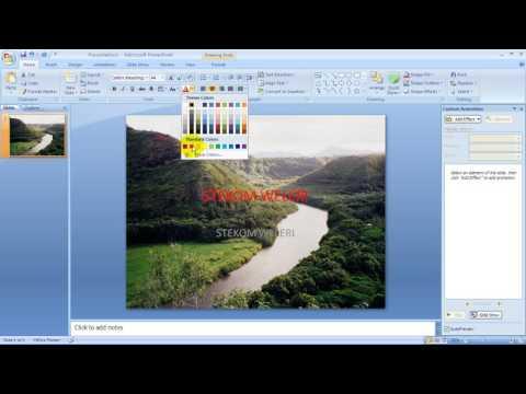 Storyboard Video Pembelajaran Ms. Power point 2007 Part 3