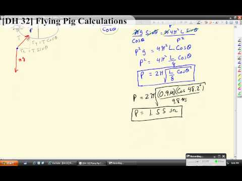 [DH-32] Flying Pig Calculations