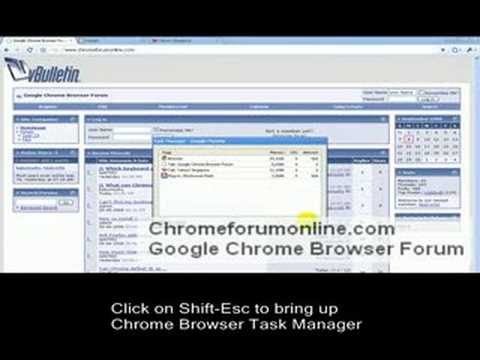 Using Chrome's Task Manager to Kill Problematic Tabs Video