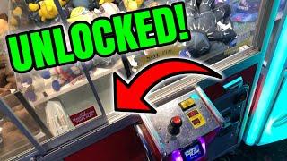 FOUND AN UNLOCKED CLAW MACHINE!    Arcade Wins