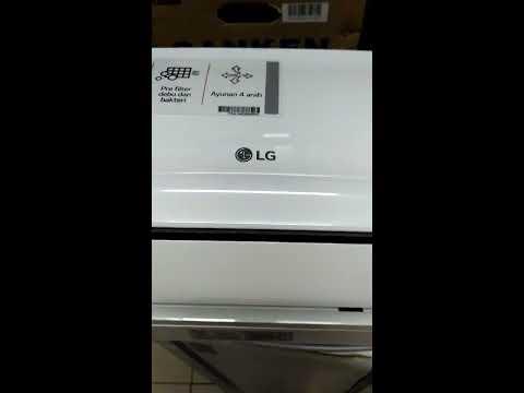 Review Terbaru AC LG 3/4 PK 07NLA
