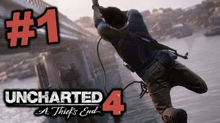 UNBELIEVABLE GAMEPLAY!!! - Uncharted 4 FULL GAME Part 1 / Walkthrough/ Playthrough