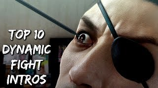 Top 10 Epic Dynamic Fight Introductions In The Yakuza Series (850 Subs Special & Spoilers)