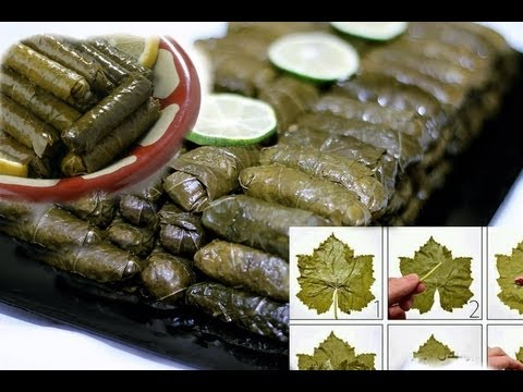 Arabic Recipe #12 -Stuffed Grape Leaves ورق عنب