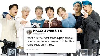 SuperM Answers K-Pop Questions From Twitter   Tech Support   WIRED