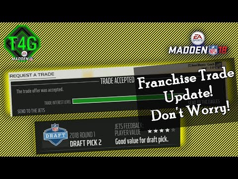 ✔️Cheating the Trade System in Madden 18 | No Trade Meter