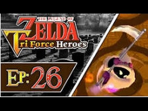 The Legend of Zelda: Triforce Heroes - Part 26: Palace Noir (3 Players)
