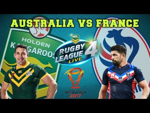Australia vs France | Rugby League World Cup 2017 | Rugby League Live 4 w/SharknadoTV