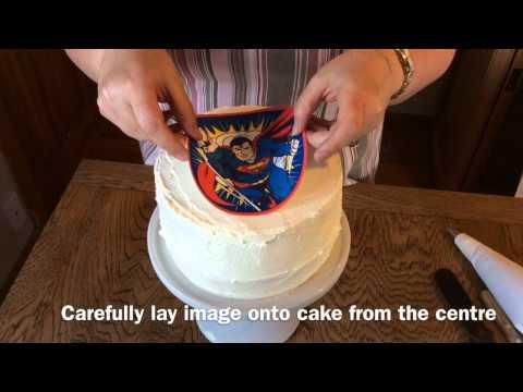 Using an Edible Icing Image