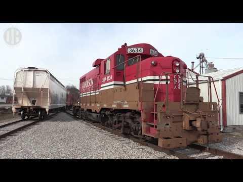 Madison Railroad's Tilting Target Signal at North Vernon, Indiana